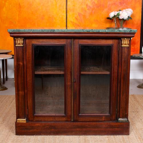 Pier Cabinet Marble Rosewood Glazed Bookcase (1 of 11)