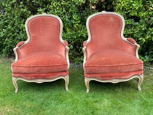 Pair of French Armchairs c.1920 (1 of 8)