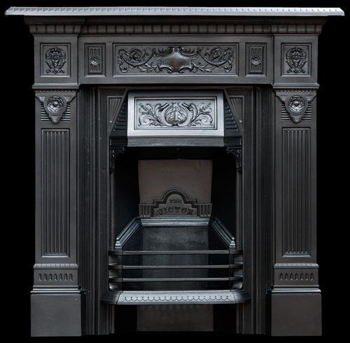 Original Victorian Fireplace 1894. Refurbished & Polished (1 of 9)