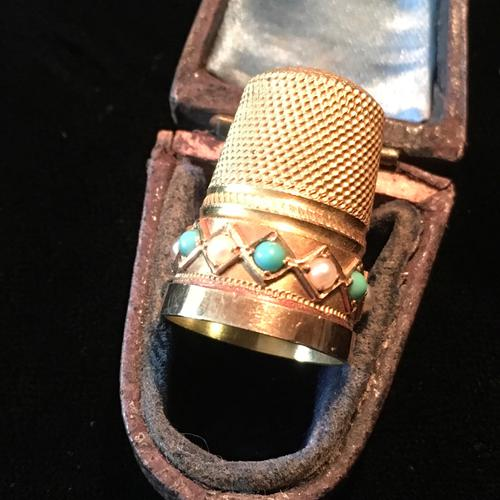 Gold Thimble - 15ct Tested c.1890 (1 of 4)