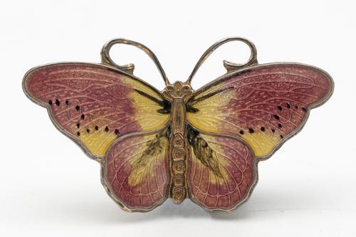 Vintage Norwegian Butterfly Brooch (1 of 2)