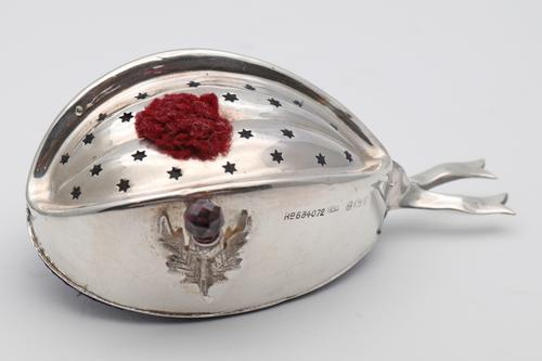Silver Glengarry Pin Cushion (1 of 4)