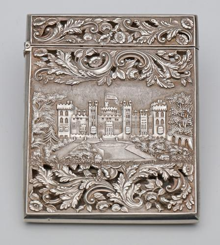 Nathaniel Mills Silver Castle Top Card Case (1 of 3)