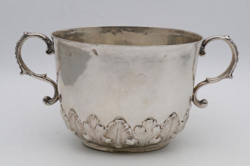 Charles II Silver Porringer (1 of 3)