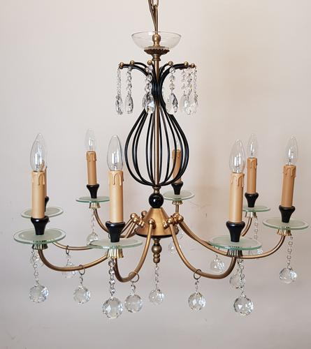 Art Deco Style Chanderleir (1 of 4)