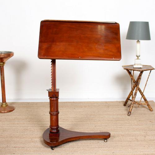 Adjustable Writing Desk 19th Century (1 of 11)