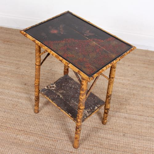Aesthetic Lacquer Bamboo Table 19th Century (1 of 8)