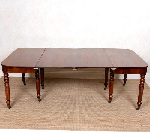 George III Mahogany Dining Table Extending c.1790 Georgian (1 of 14)