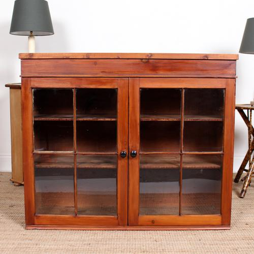 Astragal Glazed Bookcase Top c.1920 (1 of 6)