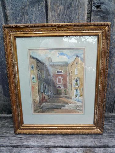 19th / 20th Century Watercolour - Signed D.Cox (1 of 5)