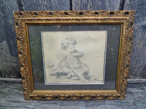 18th Century Old Master Drawing of a Child - Follower of Peter Paul Rubens (1 of 8)