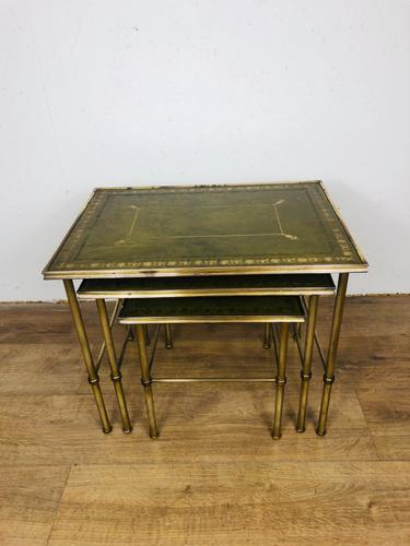 Brass Nest of Tables (1 of 3)