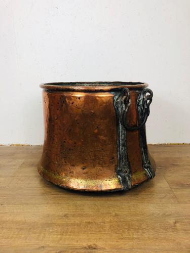 Copper Log Bucket (1 of 3)