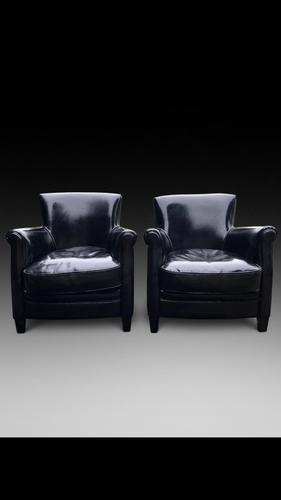 Black Leather Chairs (1 of 3)