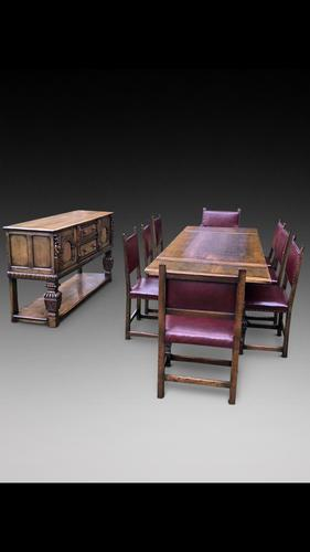 Elizabethan Style Dining Suite by Maples (1 of 9)