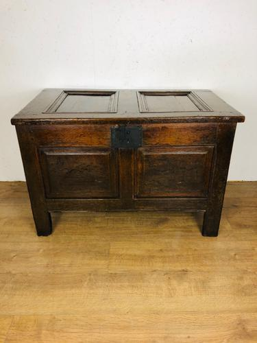 18th Century Oak Coffer (1 of 3)