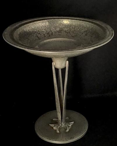 Homeland Arts & Crafts Style Pewter Tazza C.1930 (1 of 4)