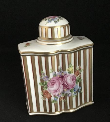 Dresden Ceramic Tea Caddy (1 of 5)