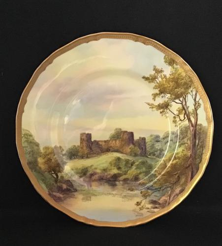 Royal Worcester Plate Bothwell Castle (1 of 4)