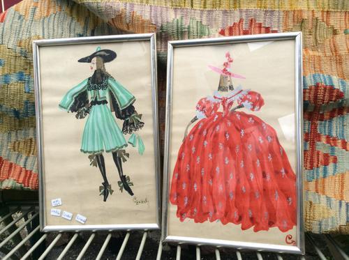Ladislas Czettel Fashion/Costume Designs X2 (1 of 4)