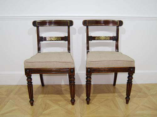 Good Pair of Rosewood Side Chairs (1 of 3)