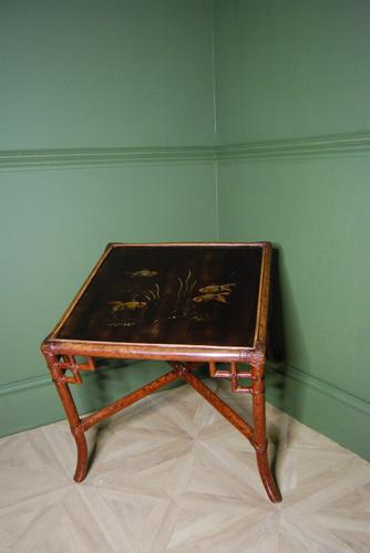 Bamboo & Lacquer Low Table c.1890 (1 of 4)