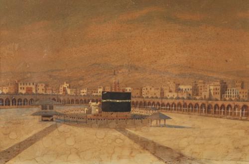 Panoramic View of Mecca c.1880 (1 of 1)