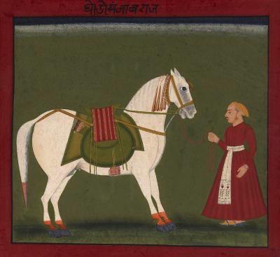 Equestrian Portraits, Mewar, 19th Century (1 of 1)