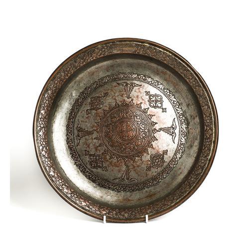 Tinned Copper Dish, Ottoman Empire, 18th Century (1 of 1)