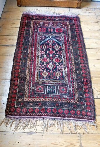 Small Mid 20th Century Persian Rug (1 of 15)