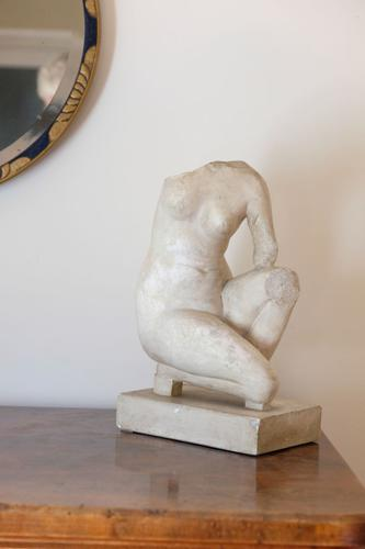Classical Plaster Cast Figure of Crouching Aphrodite (1 of 11)