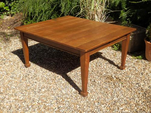 Solid Oak Extending Dining Table c.1920 (1 of 11)