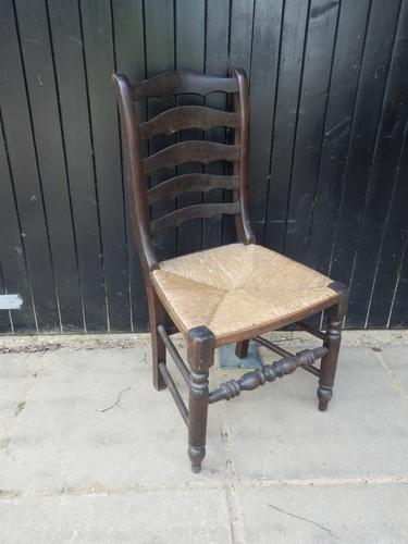 Arts & Crafts Style Dining Chair c.1920 (1 of 8)