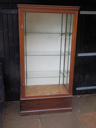 Display Cabinet, Glazed, Mahogany, Edwardian (1 of 10)