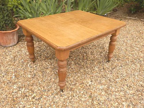Oak Extending Table c.1920 (1 of 12)