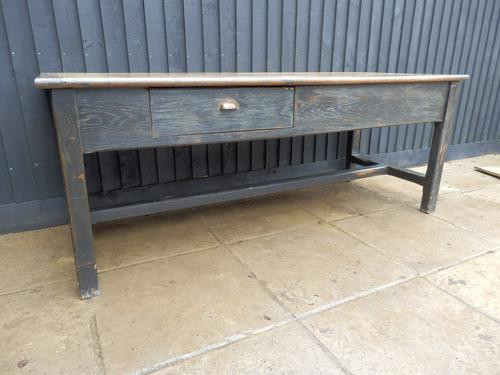 Preparation Table, Solid Oak. Victorian (1 of 11)