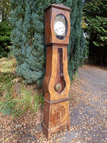 French Longcase Clock c.1900 (1 of 9)