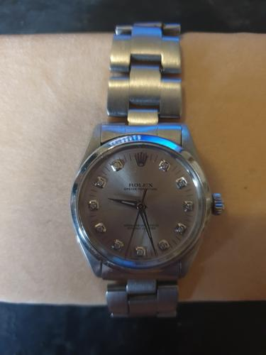 Mens Rolex Oyster Perpetual Diamond Dial Watch Wristwatch Model No. 1002 (1 of 4)
