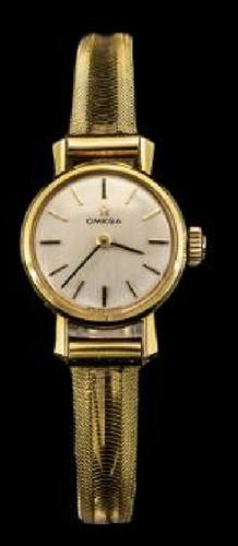 Rare Omega 18ct Gold Ladies Watch Wristwatch (1 of 1)