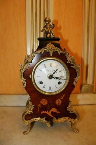 Very RAre Franz Hermle Imperial Boulle Gilt Ormolu Clock (1 of 6)