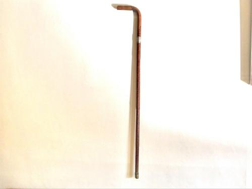 Gentlemans Walking Stick with Silver Victorian Mount (1 of 4)