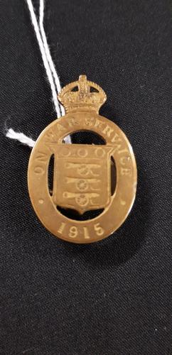 WW1 First World War Badge (1 of 1)