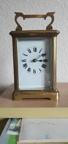 Victorian 8-Day French Antique Mantel Carriage Clock with Cylinder Escapement (1 of 4)