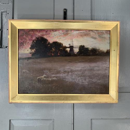 Antique Impressionist Landscape Oil Painting Signed David Murray Dated 1889 (1 of 10)