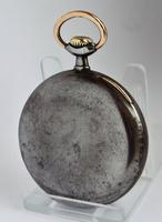 An Antique Gun Metal Omega Pocket Watch 1914 (2 of 5)