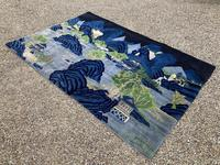 Vintage Chinese Pao-tao Landscape Rug 1.70m x 2.51m (7 of 12)