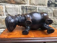 Liberty's of London Leather Hippo Foot Stool (7 of 7)