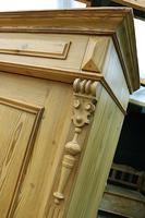 Fabulous Old Pine Cupboard / Double Wardrobe - Option of Shelves (6 of 11)