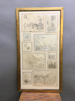 Decorative Collection of 18th Century Sketches (2 of 9)