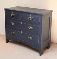 Pitch Pine Painted Chest of Drawers (5 of 11)